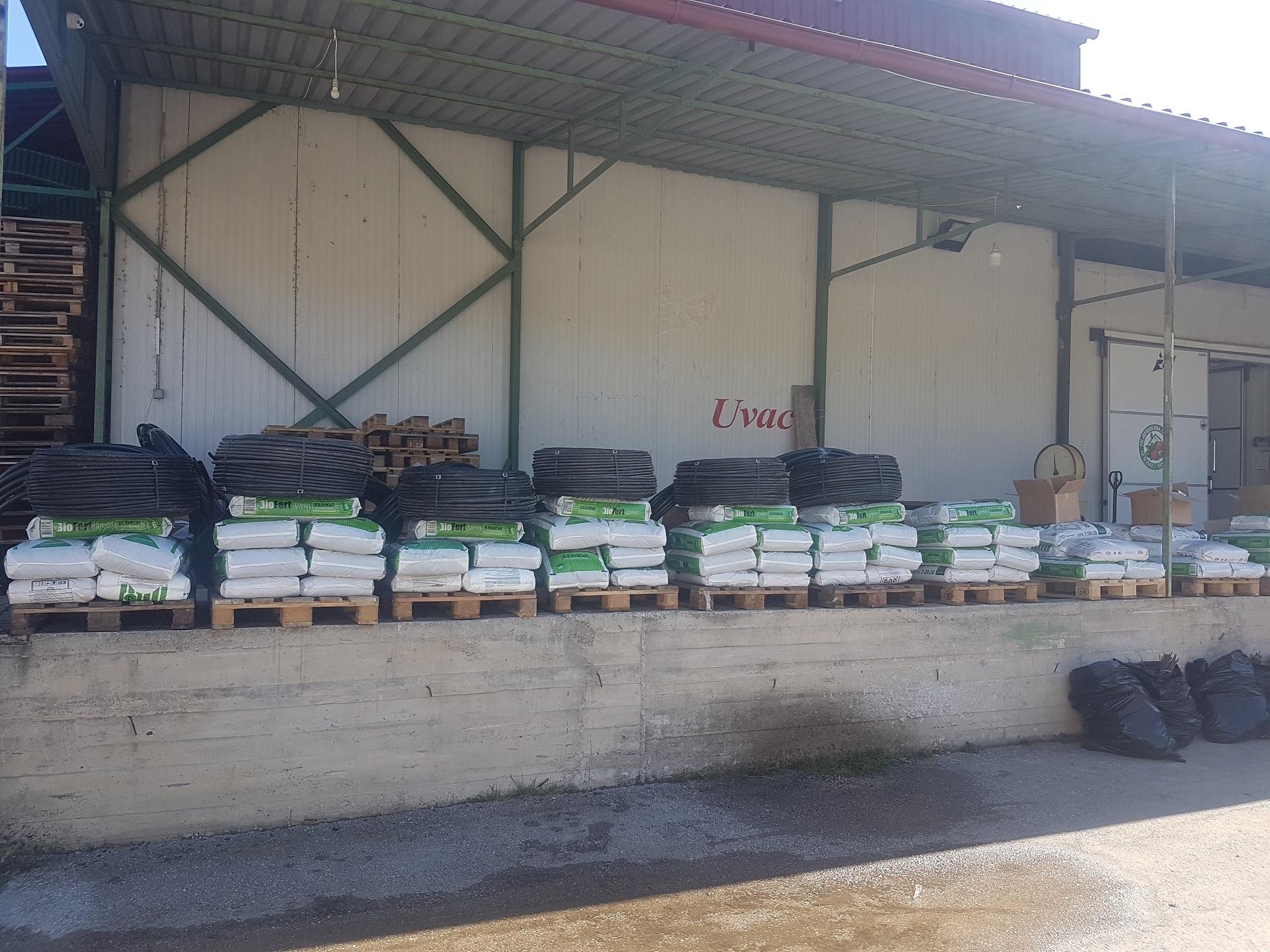 Подјела стартап пакета за производњу малине у Рудом